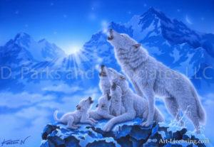 Wolf-Shining Lives