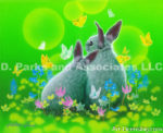 Rabbit-Nestling Close