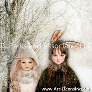 Black and White Rabbits