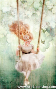 The Girl Who Gets on The Swing