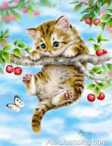 Cherry Tree Kitten