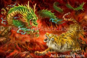 Dragon Vs Tiger