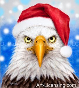 Eagle Santa
