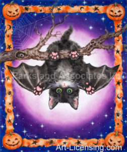 Halloween Bat Kitten