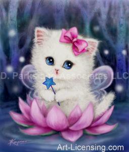 Lotus Fairy Kitten