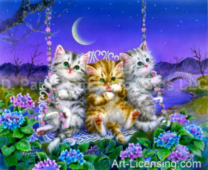 Moonlight Swing Kittens