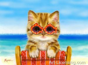 Summertime Kitten