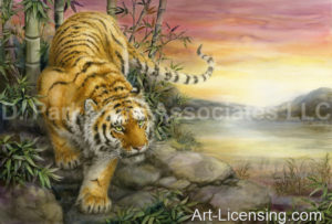Tiger-Dawn