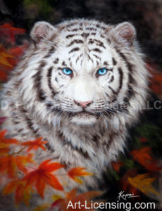 White Tiger in Autumn