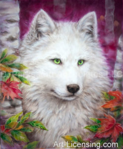 Wolf-Inspierd by the Story of Lobo The King of Currumpaw-Blanca-Autumn Lady