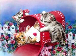 You've Got Mail Kittens