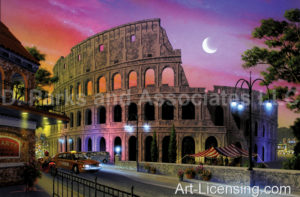 The Colosseum-Night view