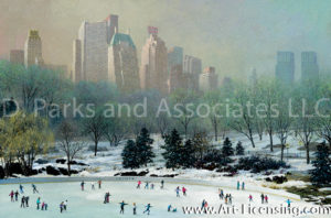 New York-Central Park Ice Rink-by Alexander Chen