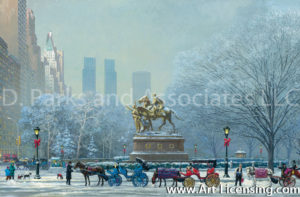 New York-Central Park South-by Alexander Chen