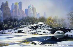 New York-Central Park Winter-by Alexander Chen