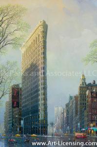 New York-Flatiron Building-by Alexander Chen