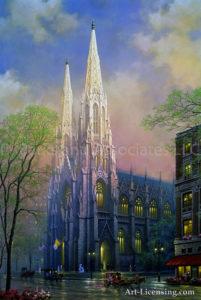 New York-St Patricks-by Alexander Chen