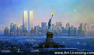New York-Statue of Liberty-by Alexander Chen