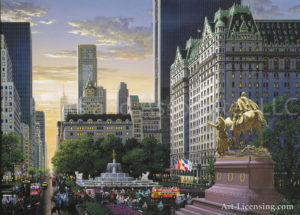 New York-The Plaza-by Alexander Chen