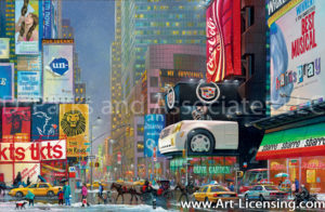New York- Times Square 47th Street-by Alexander Chen