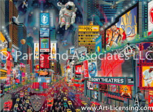 New York-Times Square Panorama-new version-by Alexander Chen