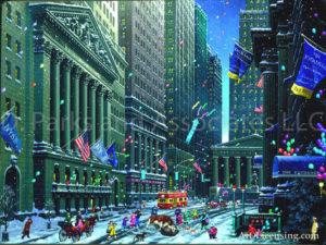 New York-Wall Street lI-by Alexander Chen