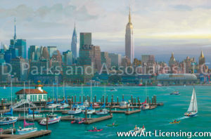 New York-Hudson River View-by Alexander Chen