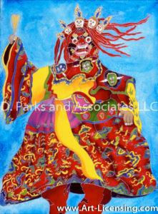 Bhutanese Dancer