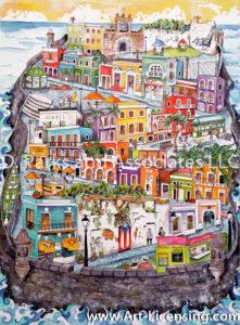 Old San Juan-Puerto Rico