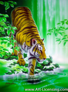 Tiger-Morning of Thaw II