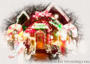 070SRH-Christmas Lighting Home