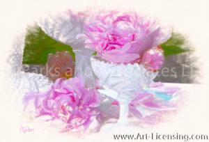 1673SRH-Pink Peonies