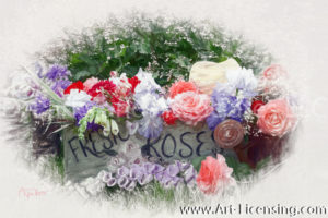 7776SRH-Roses and Summer Bouquet