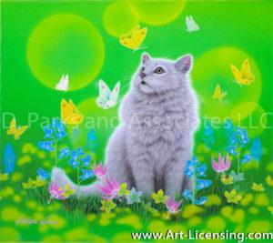 Chinchilla Persian Cat-Sweet Time