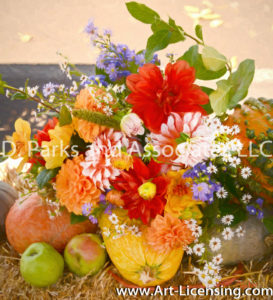 0474SART-Dahlia Bouquet