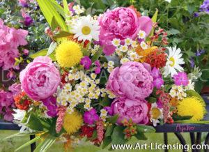 8796S-Peony Bouquet