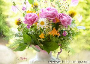 8889S-Peony Bouquet