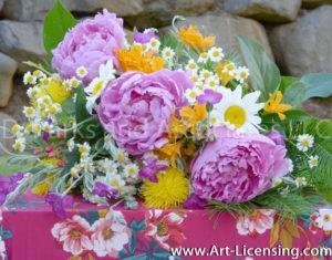 8972S-Peony Bouquet