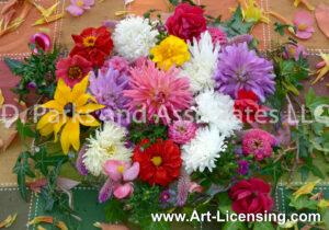 1763-Late Sumer Flower Bouquet