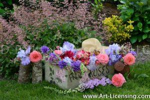 7725-Roses-Campannula-lris-Foxglove-Coral Bells