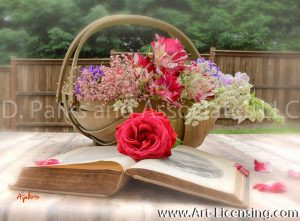 7987S-Roses-Campannula-Foxglove-Coral-Bells-Queen-Anns-Lace-Bouquet